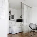 стъклена преграда за спалнята